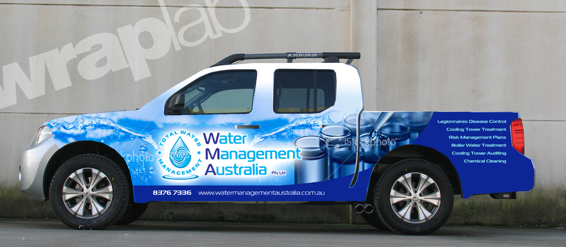 Water Management Australia Service Vehicle