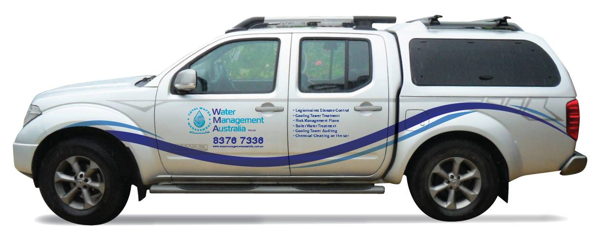 Water Management Australia Service Vehicle with Canopy