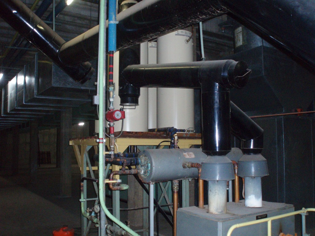 Commercial Warm Water System