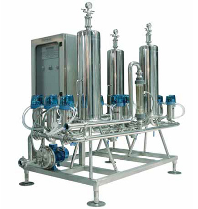 Beverage Factory Microfiltration Plant